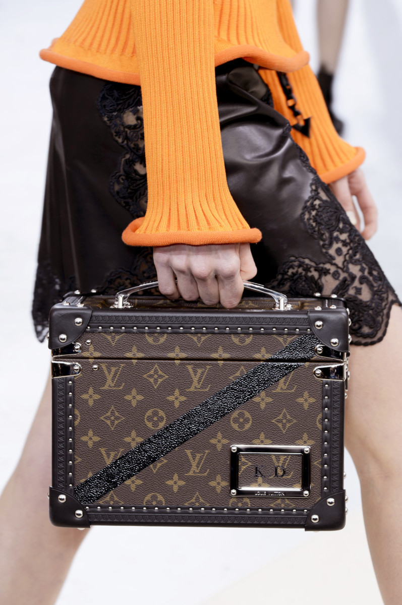 A bag from Louis Vuitton's Fall 2015 collection. Photo: Imaxtree