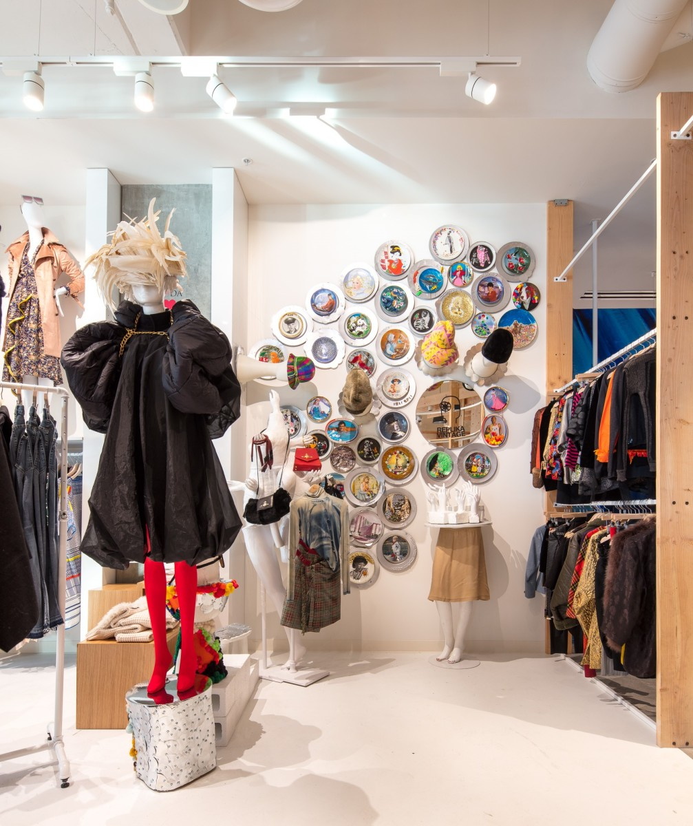 Replika Vintage at Fred Segal's new flagship. Photo: Courtesy