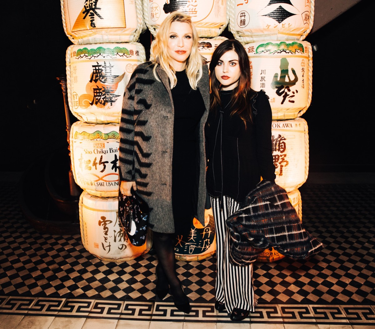 Courtney Love and Frances Bean Cobain. Photo: Courtesy