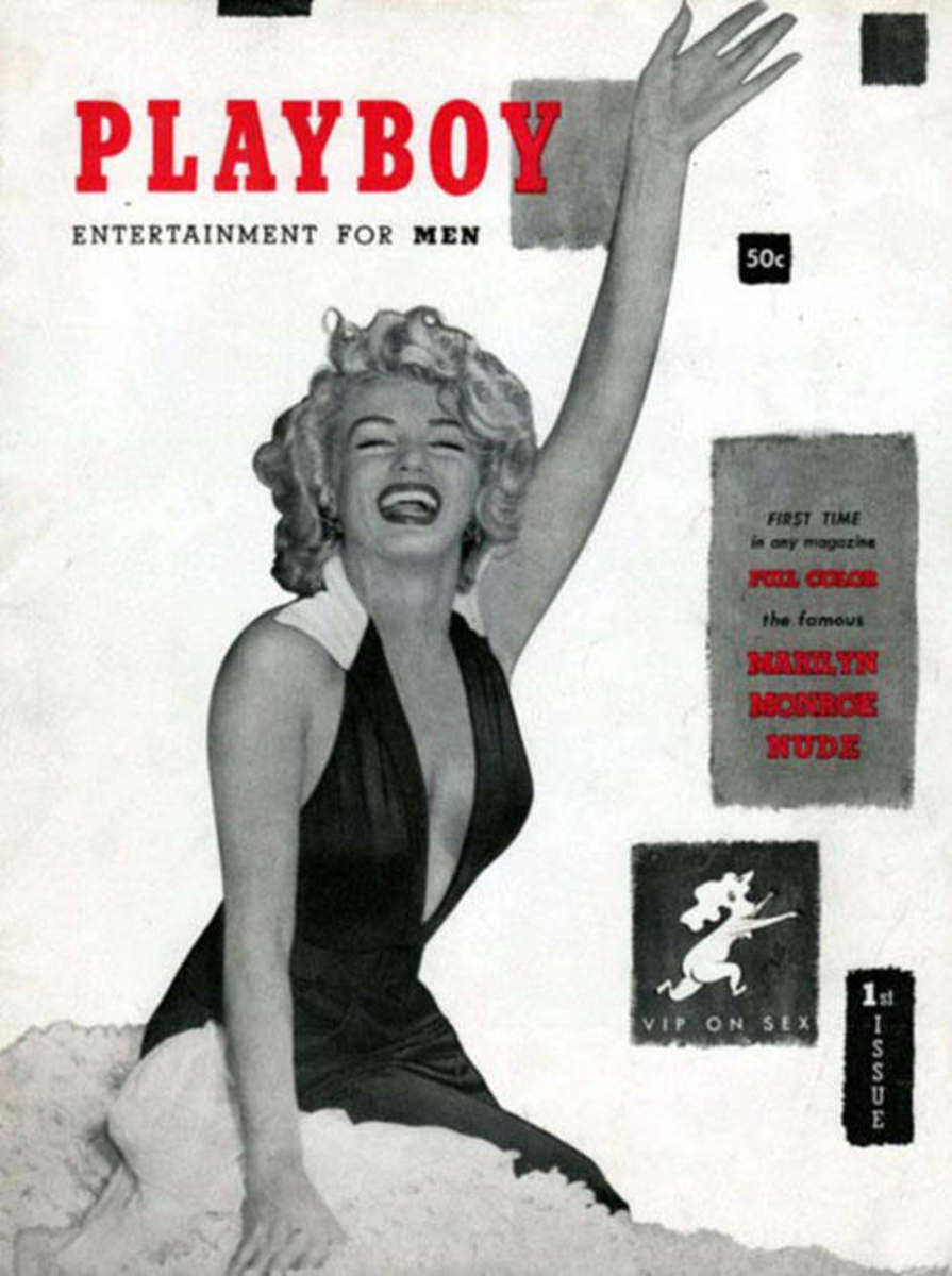 "The first ""Playboy"" issue starring Marilyn Monroe. Photo: Courtesy"