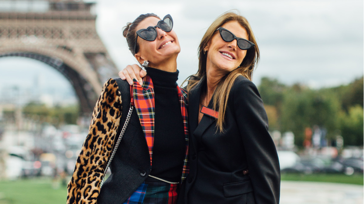 Fashion Hair Style: The Best Street Style Looks From Paris Fashion Week Spring