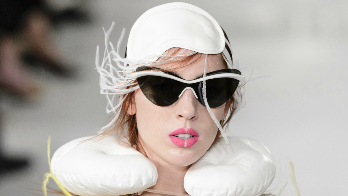 All The Best Statement Sunglasses From The Spring 2018 Runways Fashionista