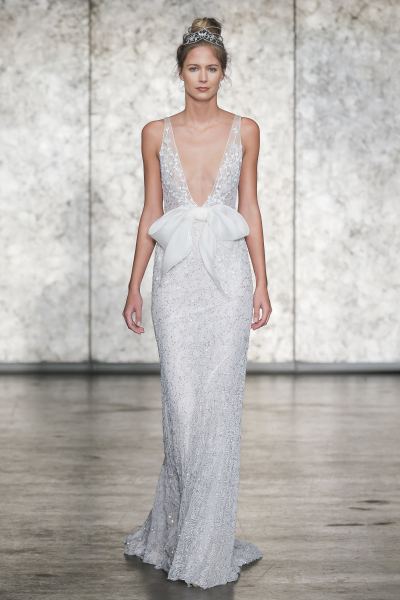 A look from the Inbal Dror Fall 2018 bridal collection. Photo: Courtesy