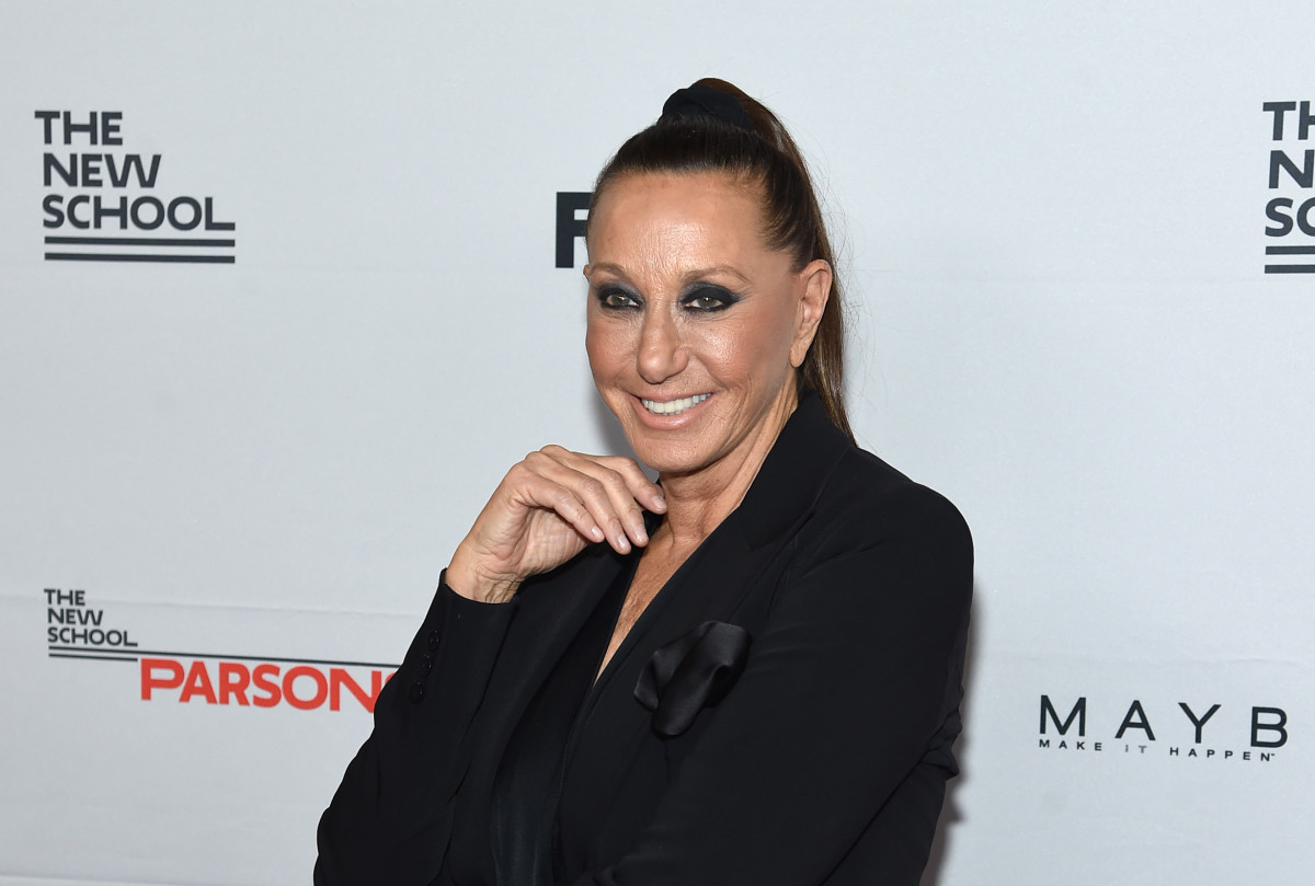 Donna Karan at the 69th Annual Parsons Benefit on May 22, 2017 in New York City. Photo: Jamie McCarthy/Getty Images