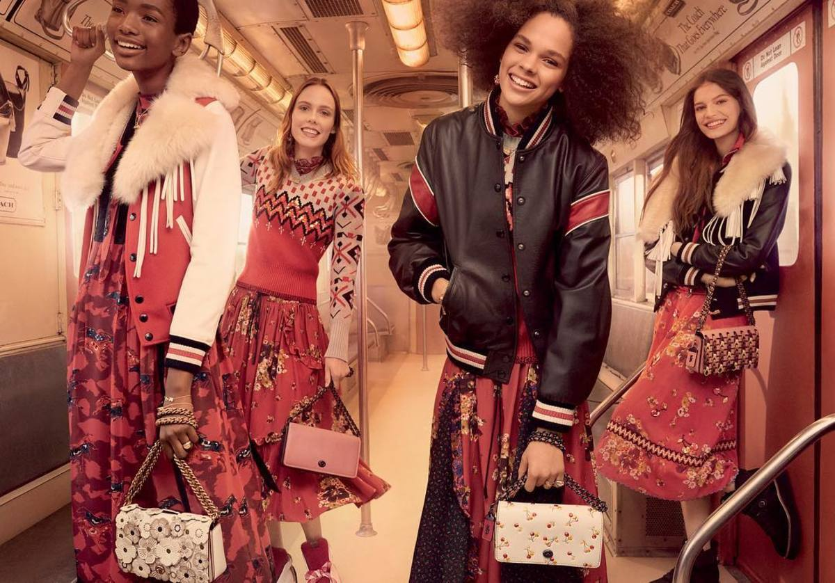 An image from Coach's Fall 2017 campaign. Photo: @coach/Instagram
