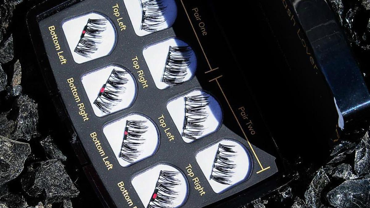 One Two Magnetic Eyelashes False Lashes Review - Fashionista