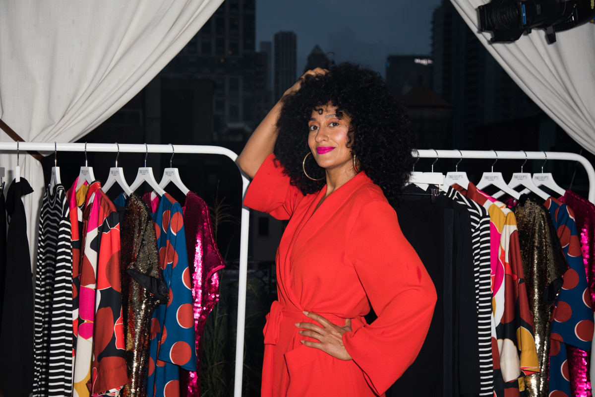 Tracee Ellis Ross at the launch of her Tracee Ellis Ross for JCPenney collection. Photo: Courtesy of JCPenney