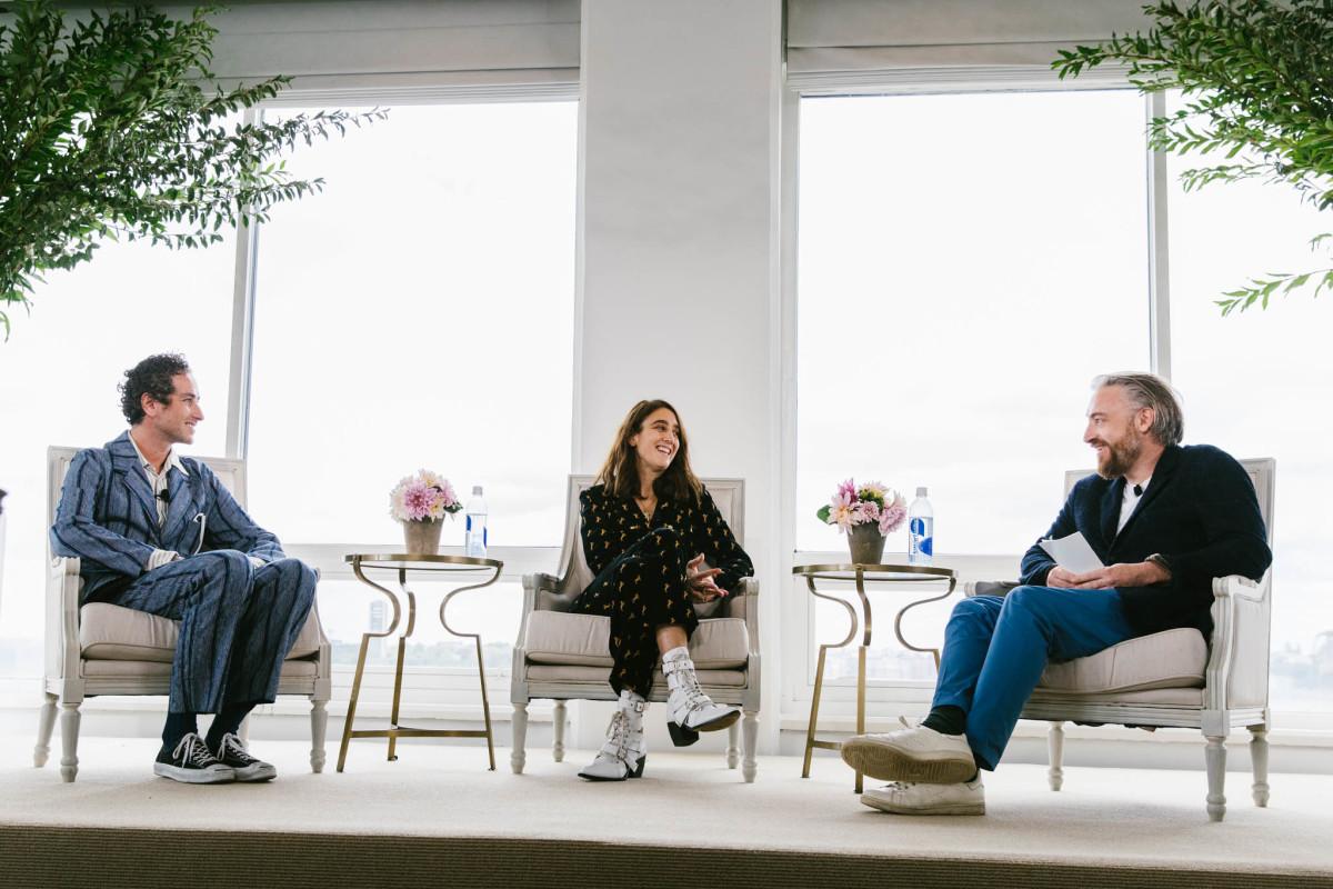 Francesco Risso, Natacha Ramsay-Levi and Luke Leitch. Photo: Corey Tenold/Vogue