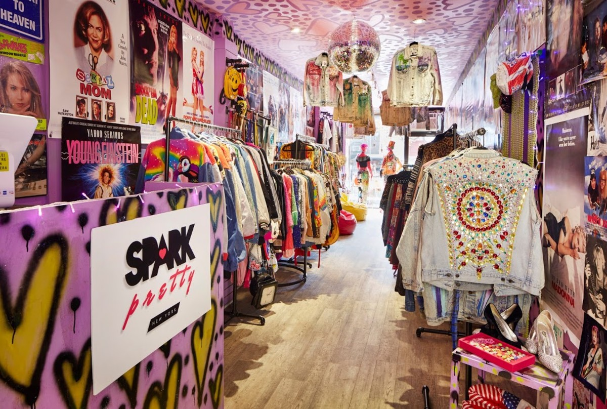 Spark Pretty vintage store in New York City. Photo: John Muggenborg