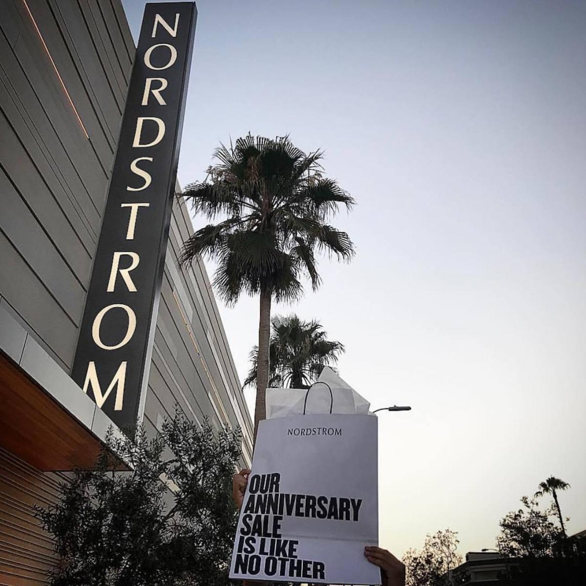 Nordstrom's Del Amo Fashion Center location in Torrance, Calif. Photo: @nordstrom/Instagram