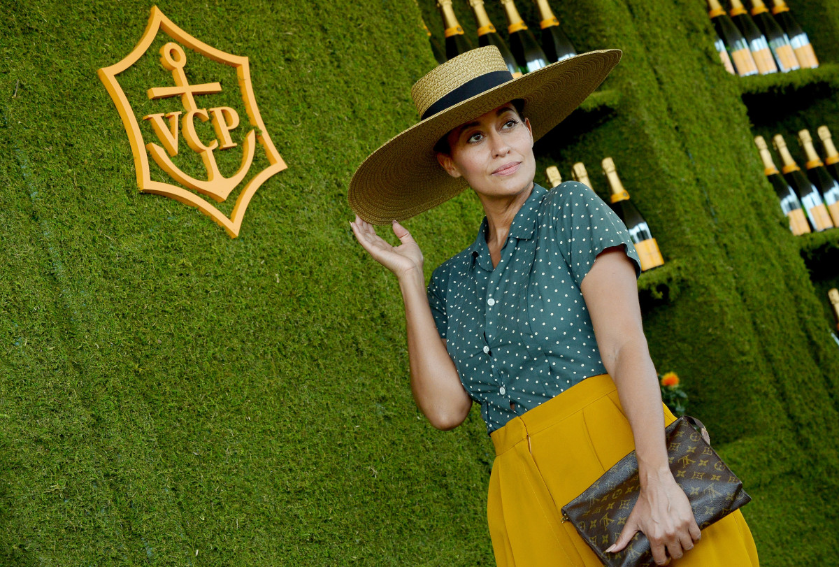 Tracee Ellis Ross at the Veuve Clicquot Polo Classic in Los Angeles. Photo: Jason LaVeris/Getty Images