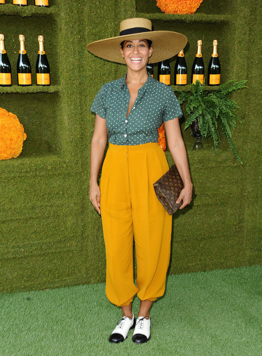 3f11bbcb Tracee Ellis Ross at the Veuve Clicquot Polo Classic in Los Angeles. Photo:  Jason