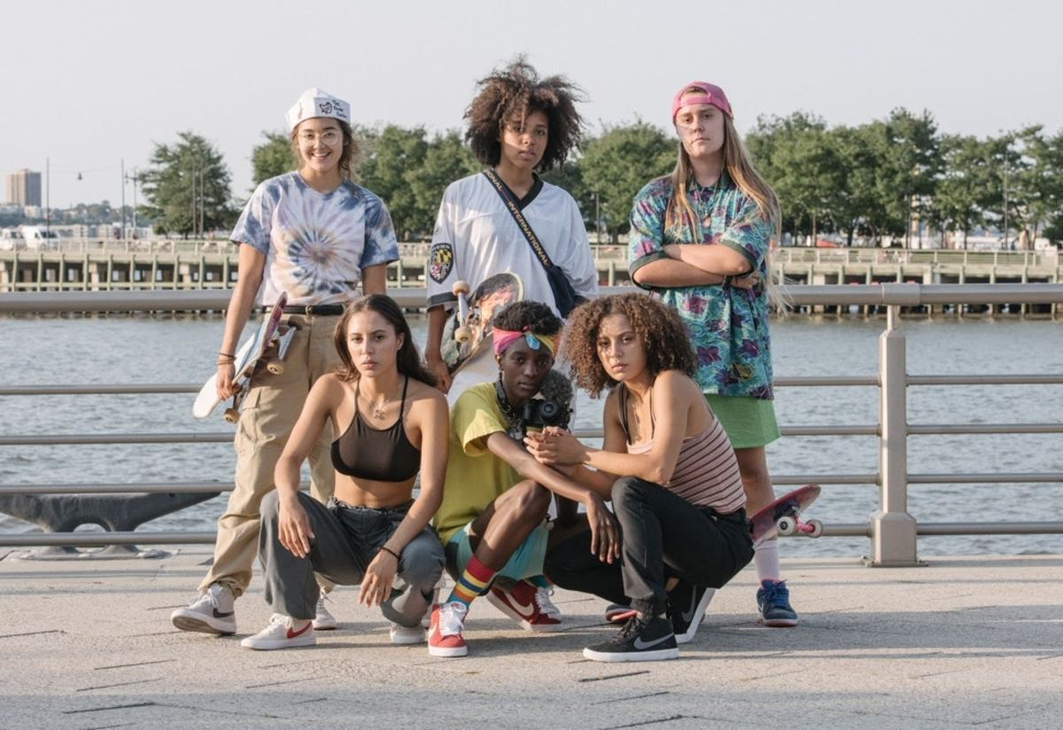 Meet The Skate Kitchen, The All-Girl Skate Crew That's Poised to Take On the Fashion World