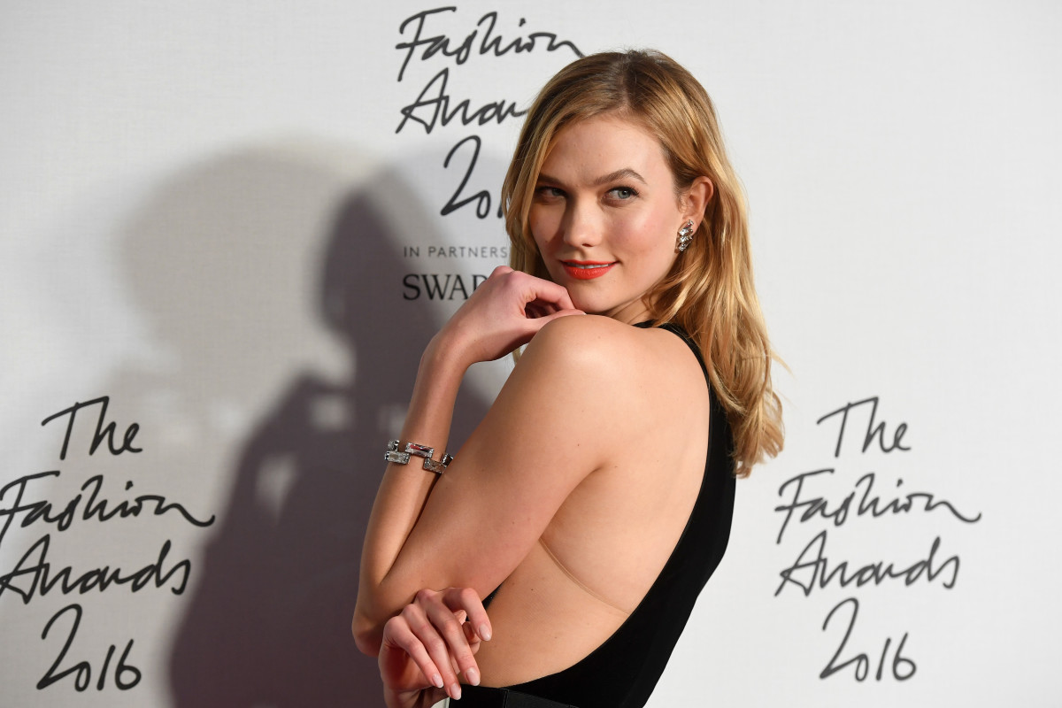 Karlie Kloss at The Fashion Awards 2016 at Royal Albert Hall on December 5, 2016 in London. Photo: Stuart C. Wilson/Getty Images