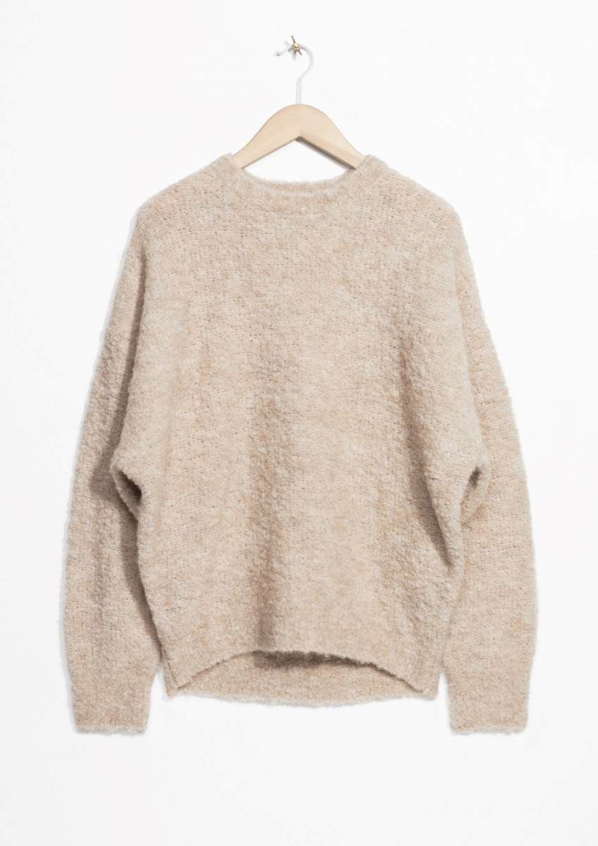 Alpaca Blend Jumper, $65, available at & Other Stories.