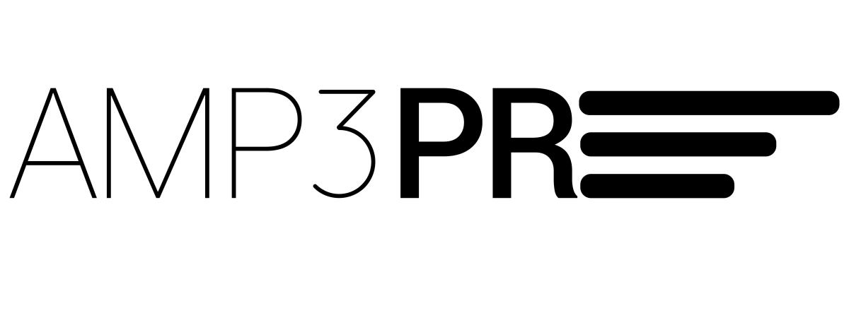AMP3 logo - black