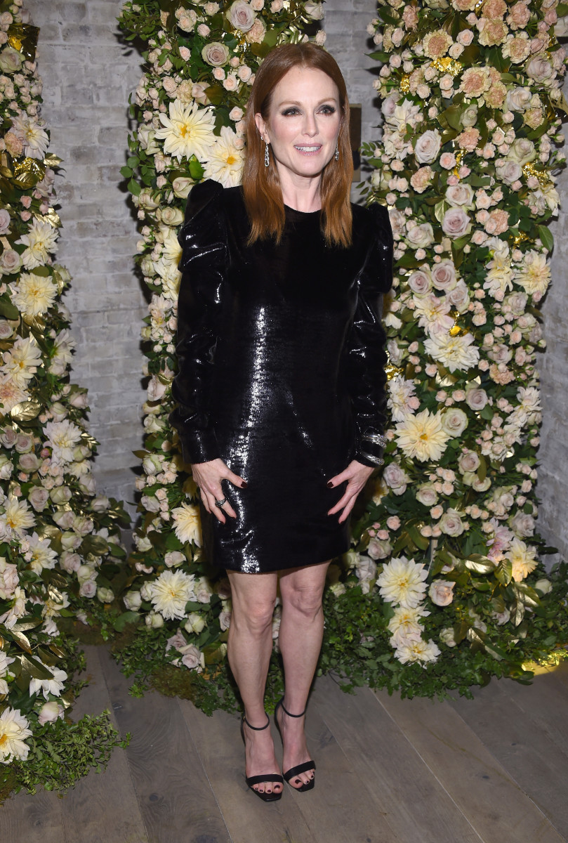 "Julianne Moore at the ""Night of Legends"" party on October 24 in NYC. Photo: Dimitrios Kambouris/Getty Images"