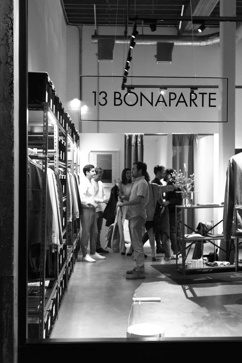 Inside the 13 Bonaparte LA store. Photo: Courtesy of 13 Bonaparte