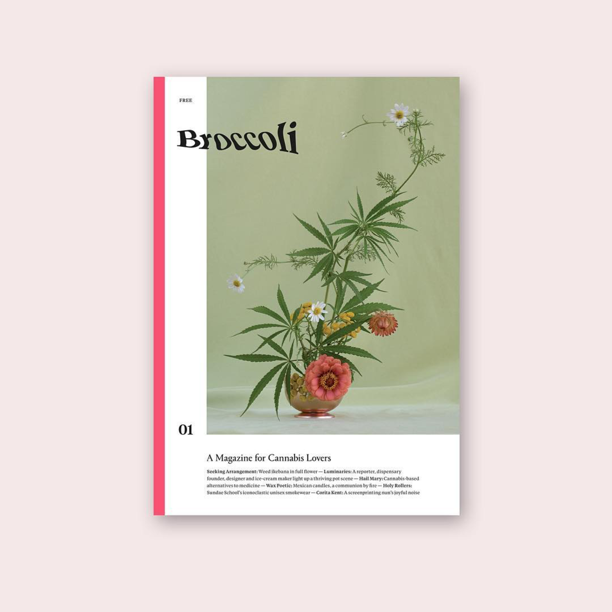Broccoli Issue 01. Photo: @broccoli_mag/Instagram