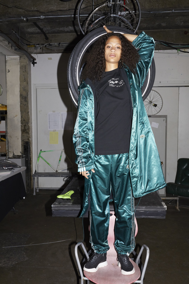 hot sale online fd8f5 1afb9 Selena Forrest for Adidas Originals by Alexander Wang. Photo  Juergen Teller