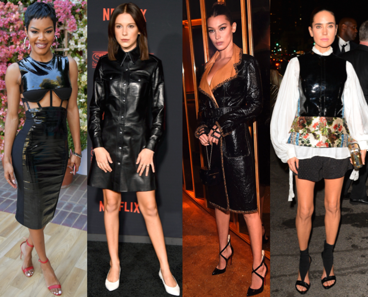Teyana Taylor, Millie Bobbie Brown, Bella Hadid, Jennifer Connelly. Photos: Getty Images