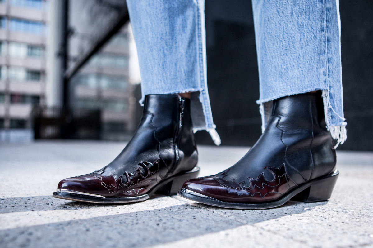 Is there anything you can't wear with ankle boots? Photo: Pablo Cuadra/Getty Images