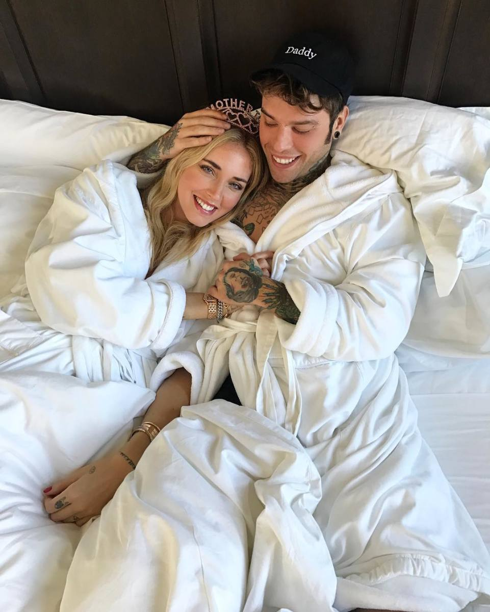 Chiara Ferragni and her boyfriend Fedez. Photo: @chiaraferragni/Instagram
