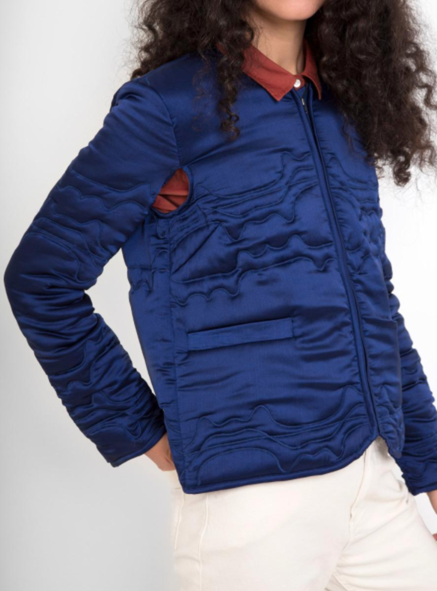 Bedroom jacket, $733, available at Rachel Comey.