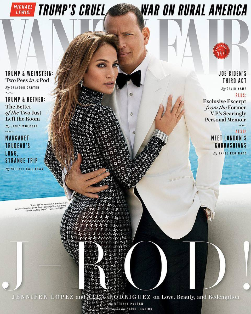 "The December cover of ""Vanity Fair."" Photo: Mario Testino/""Vanity Fair"""