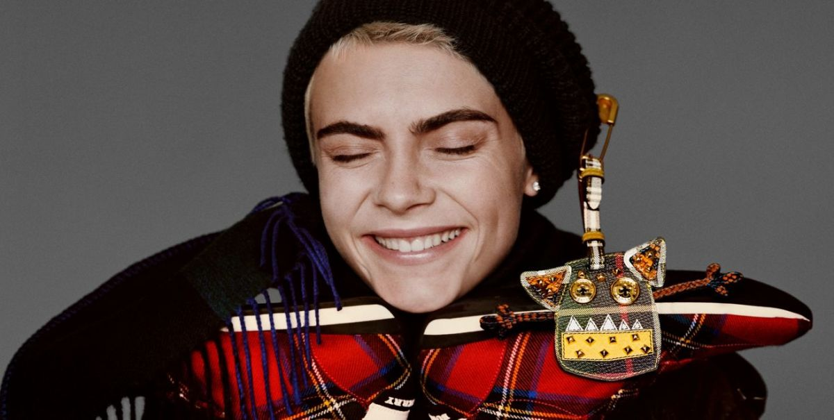 Lots Of Campaign News >> Cara Delevingne and Matt Smith Star in Burberry's Very '80s Holiday Campaign - Fashionista
