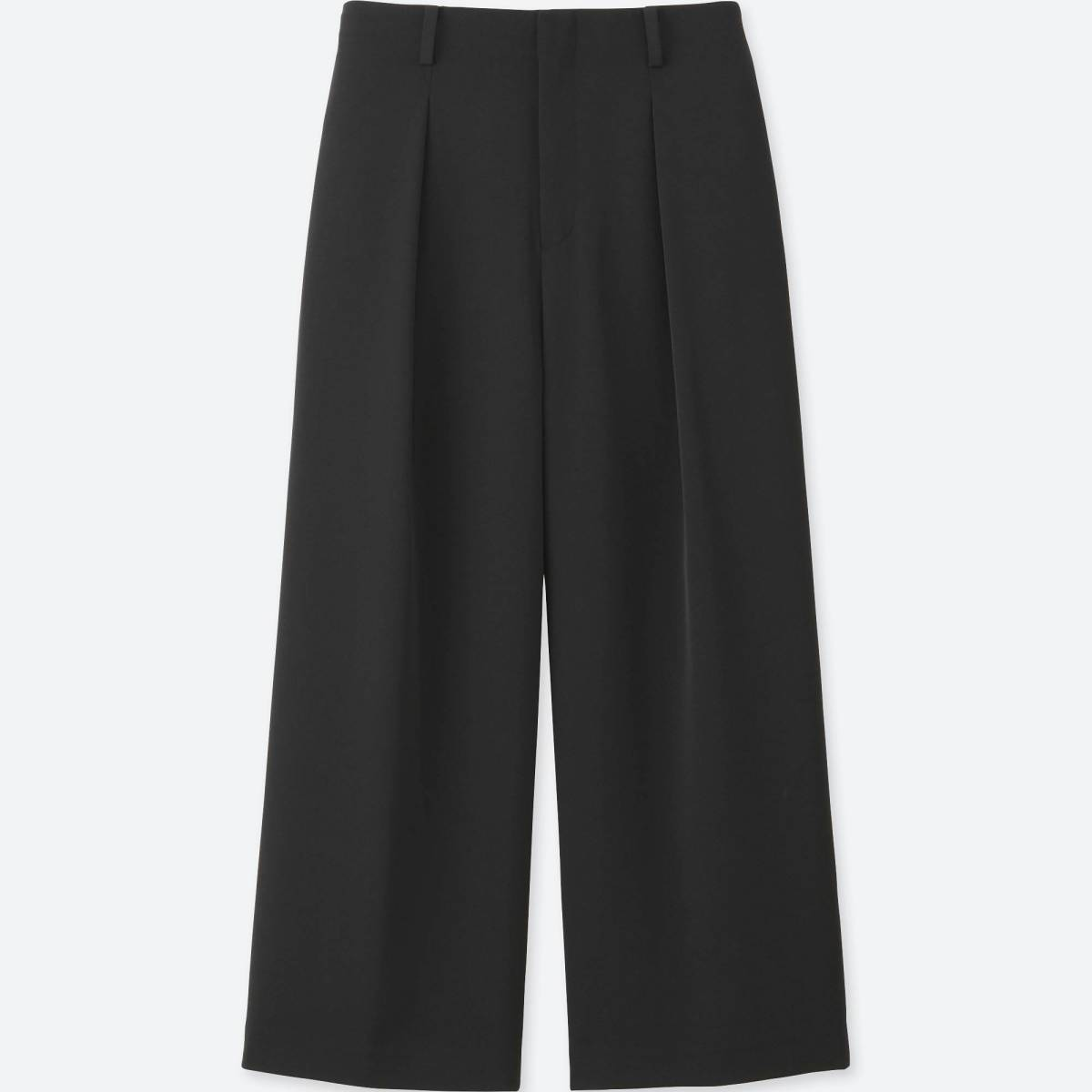 Uniqlo drape wide-leg ankle-length pant, $19.90 (from $39.90), available at Uniqlo.