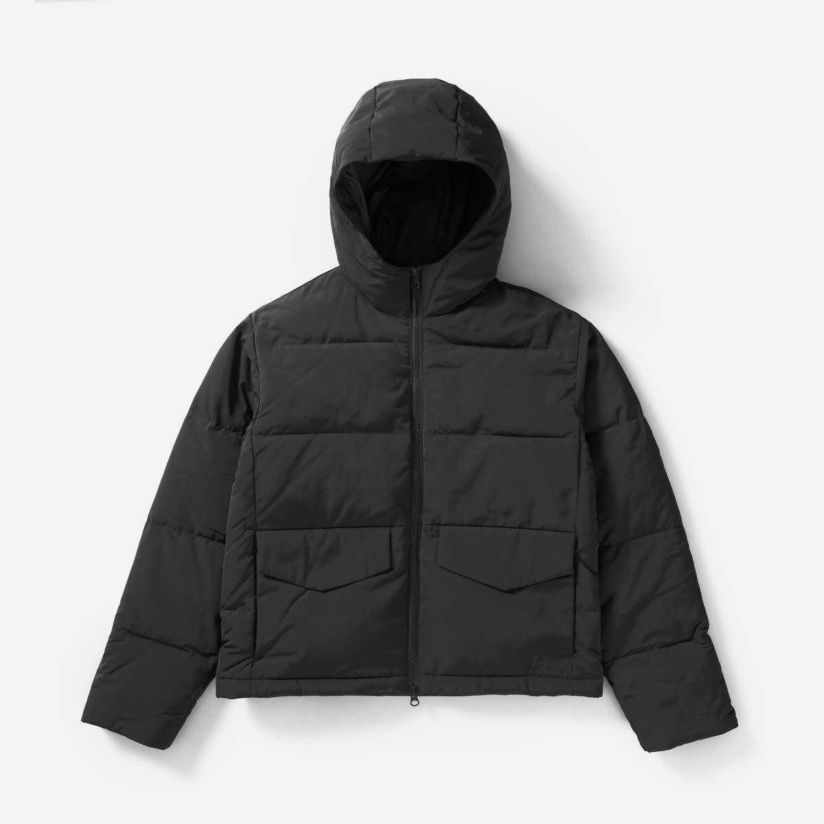 Women's Short Puffer Jacket, $125, available at Everlane.