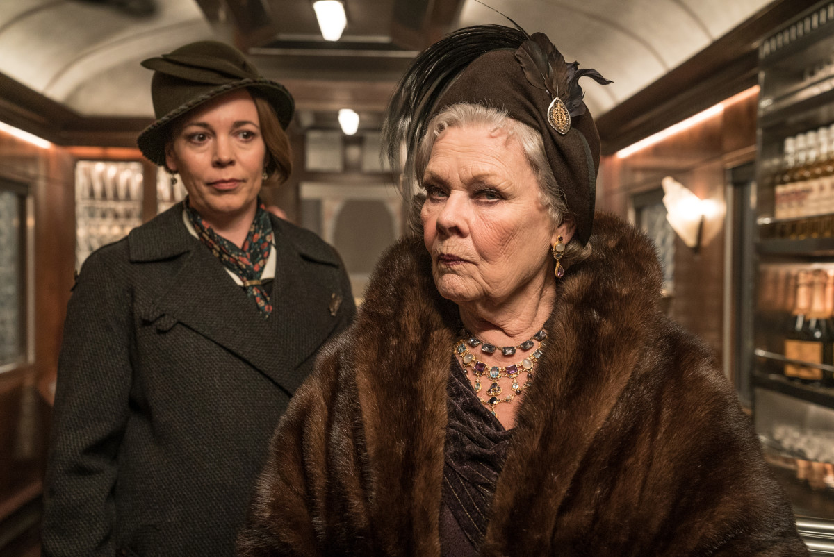 Maide Hildegarde Schmidt (Olivia Coleman) and Princess Dragomiroff (Judi Dench). Photo: Nicola Dove