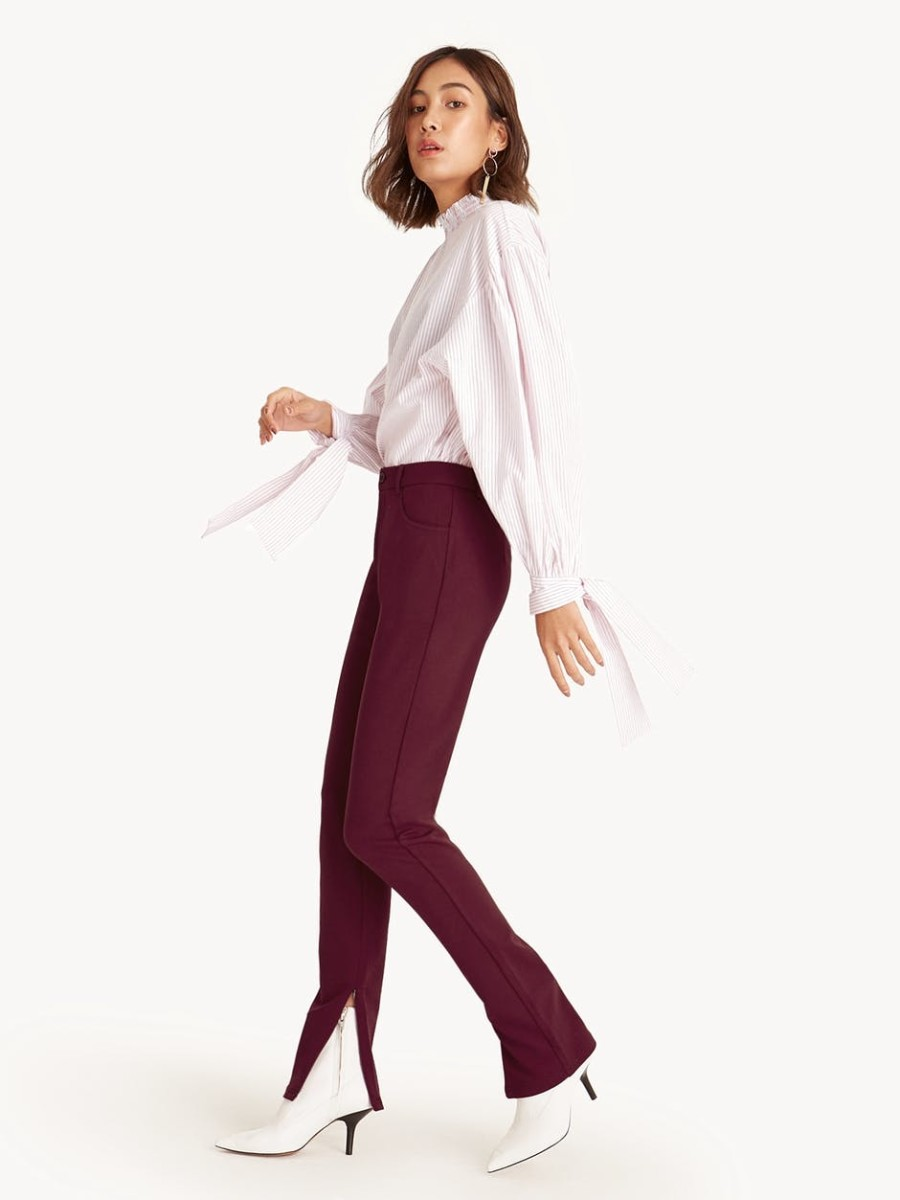 Pomelo Zip Ankle High Waist Skinny Pants, $25, available here.
