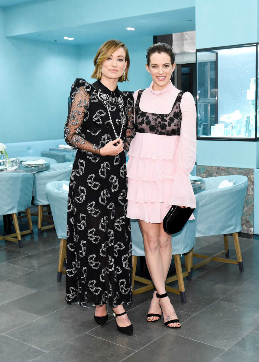 Olivia Wilde and Riley Keough at Tiffany & Co. Photo: BFA