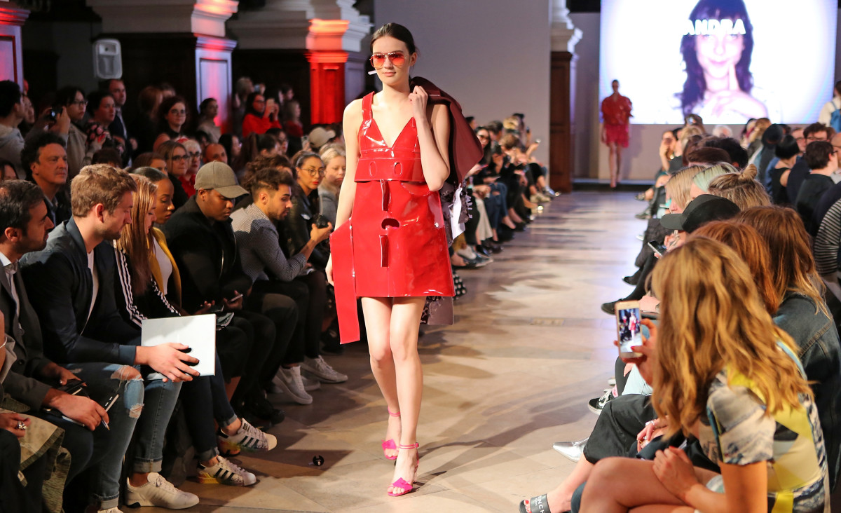Istituto Marangoni Graduate Fashion Week show in June 2017. Photo: David M Benett/Dave Benett/Getty Images for Istituto Marangoni