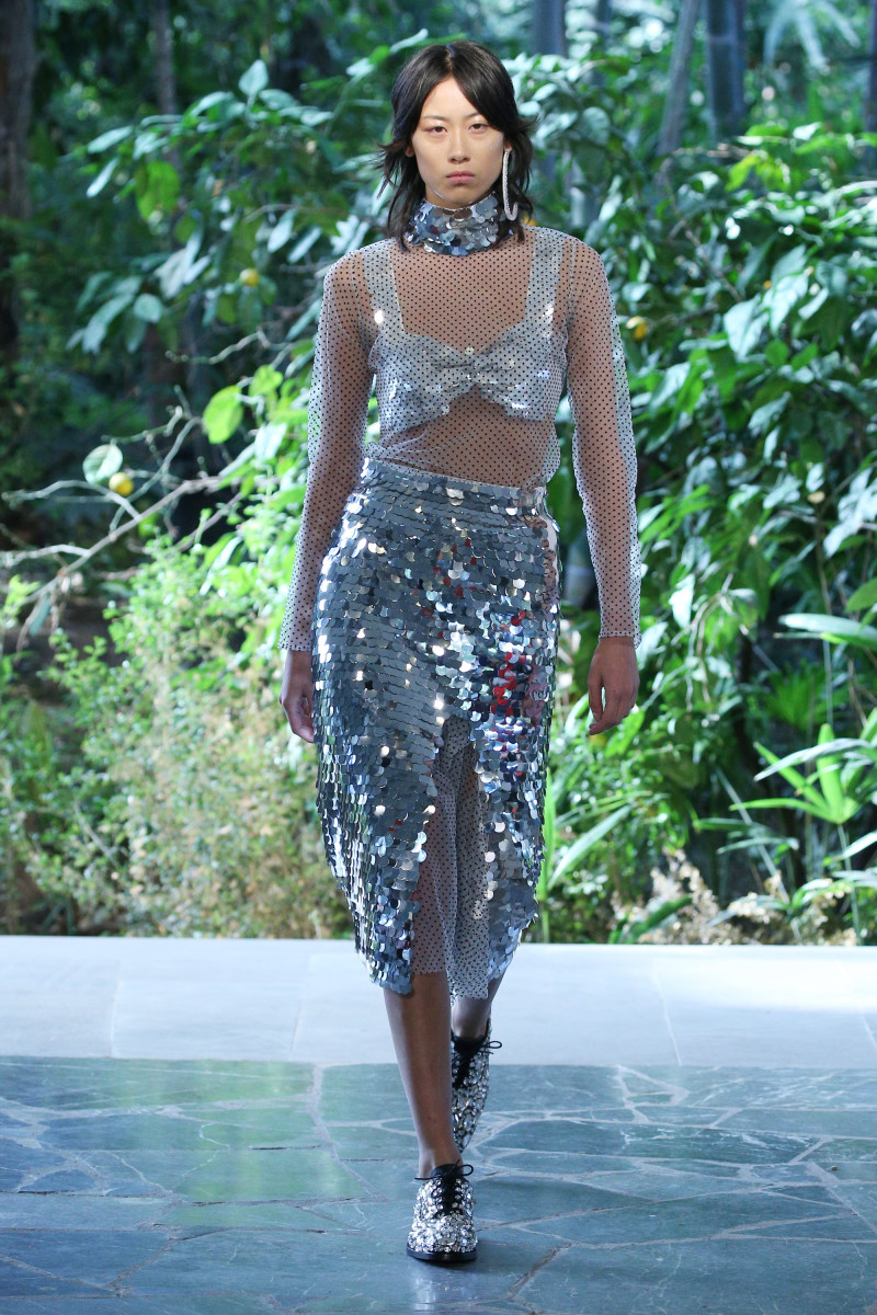 A look from Anouki's Spring 2018 collection. Photo: Edward James/Getty Images