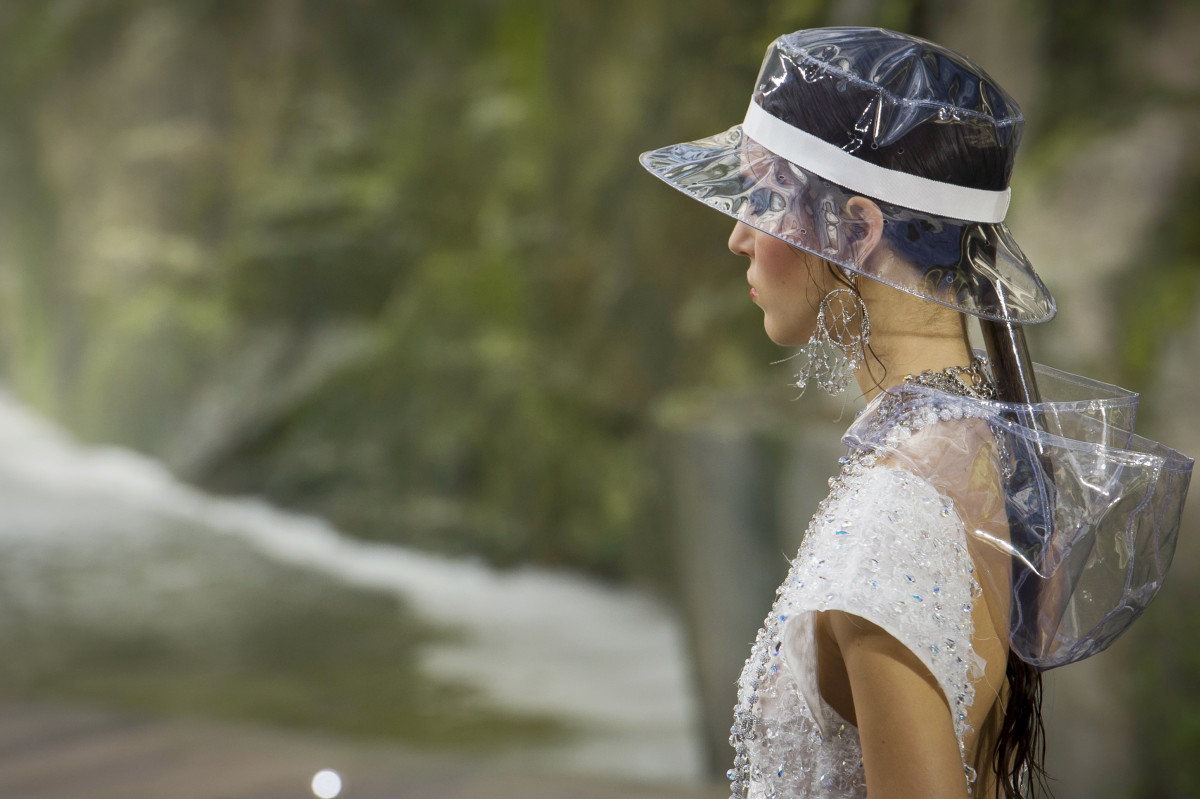 A look from Chanel's Spring 2018 show. Photo: Imaxtree