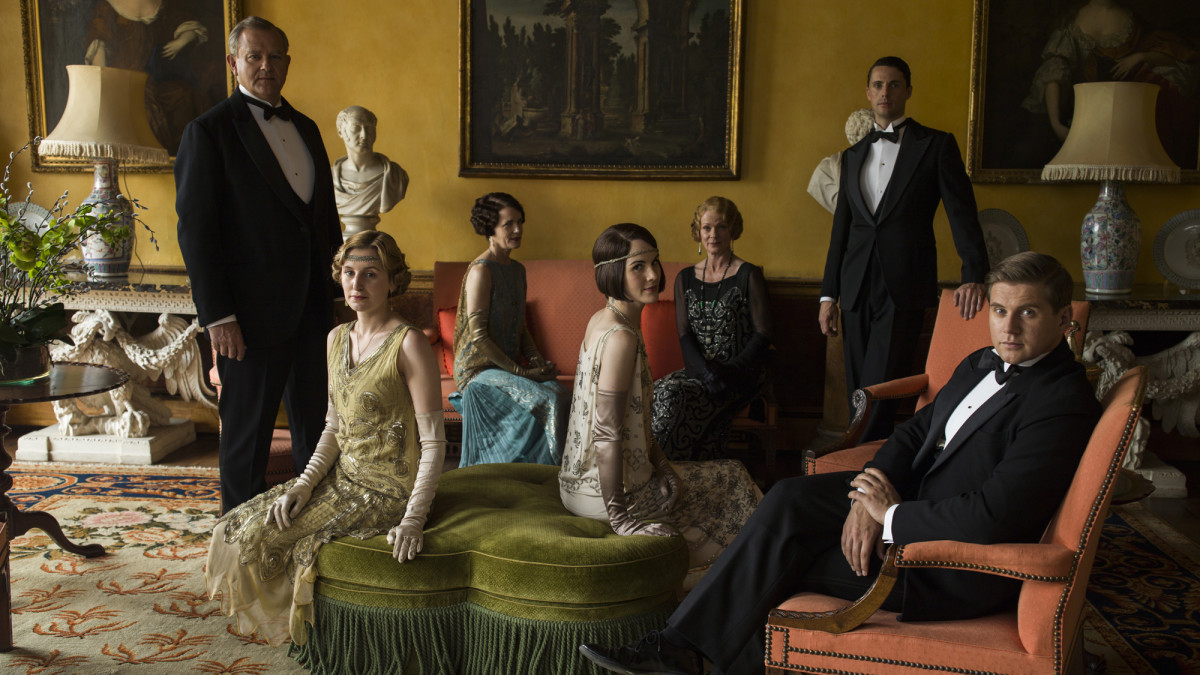 Communication on this topic: MORE: Downton Abbey's Costume Designer Dishes on , more-downton-abbeys-costume-designer-dishes-on/
