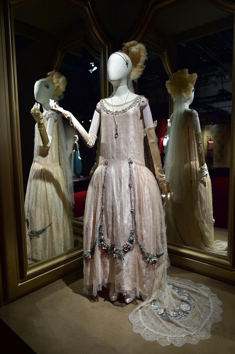 Lady Rose's debutante ball gown. Photo: Courtesy