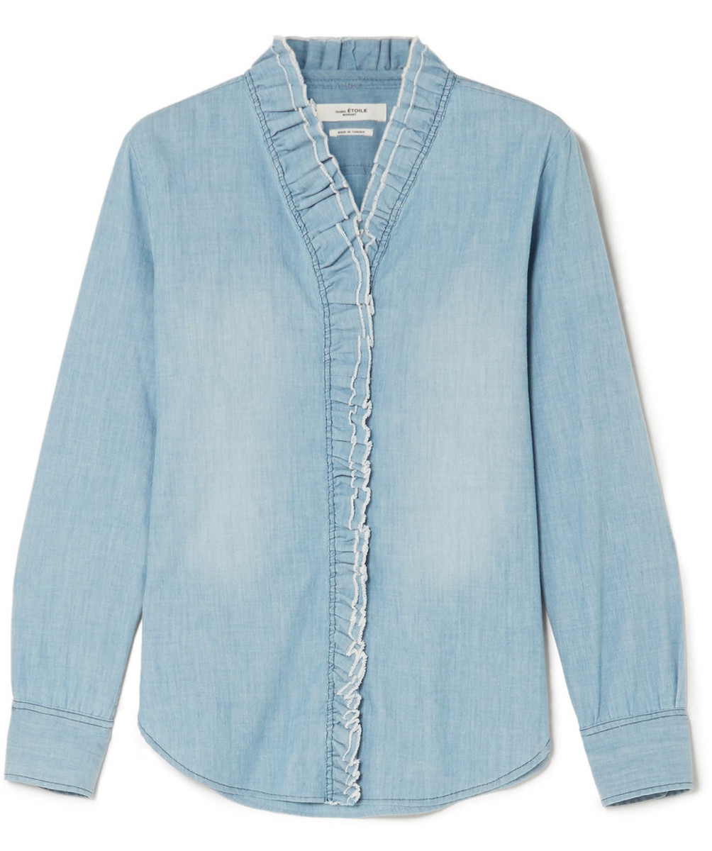 Isabel Marant Étoile Lawendy blouse, $270, available at Net-A-Porter.