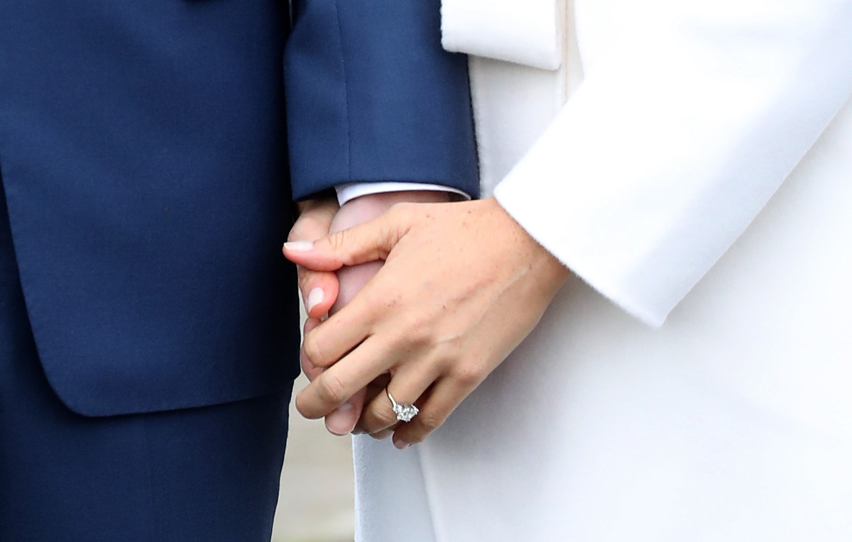 The ring! Photo: Chris Jackson/Getty Images