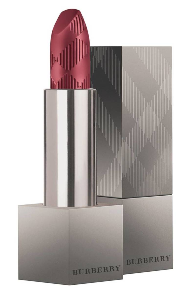 "Burberry Beauty lip velvet matte lipstick in ""Oxblood,"" $35, available at Nordstrom."