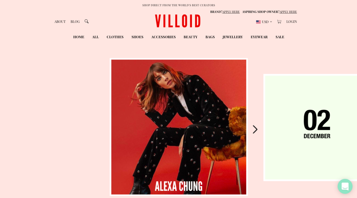 Screen grab: Villoid.com