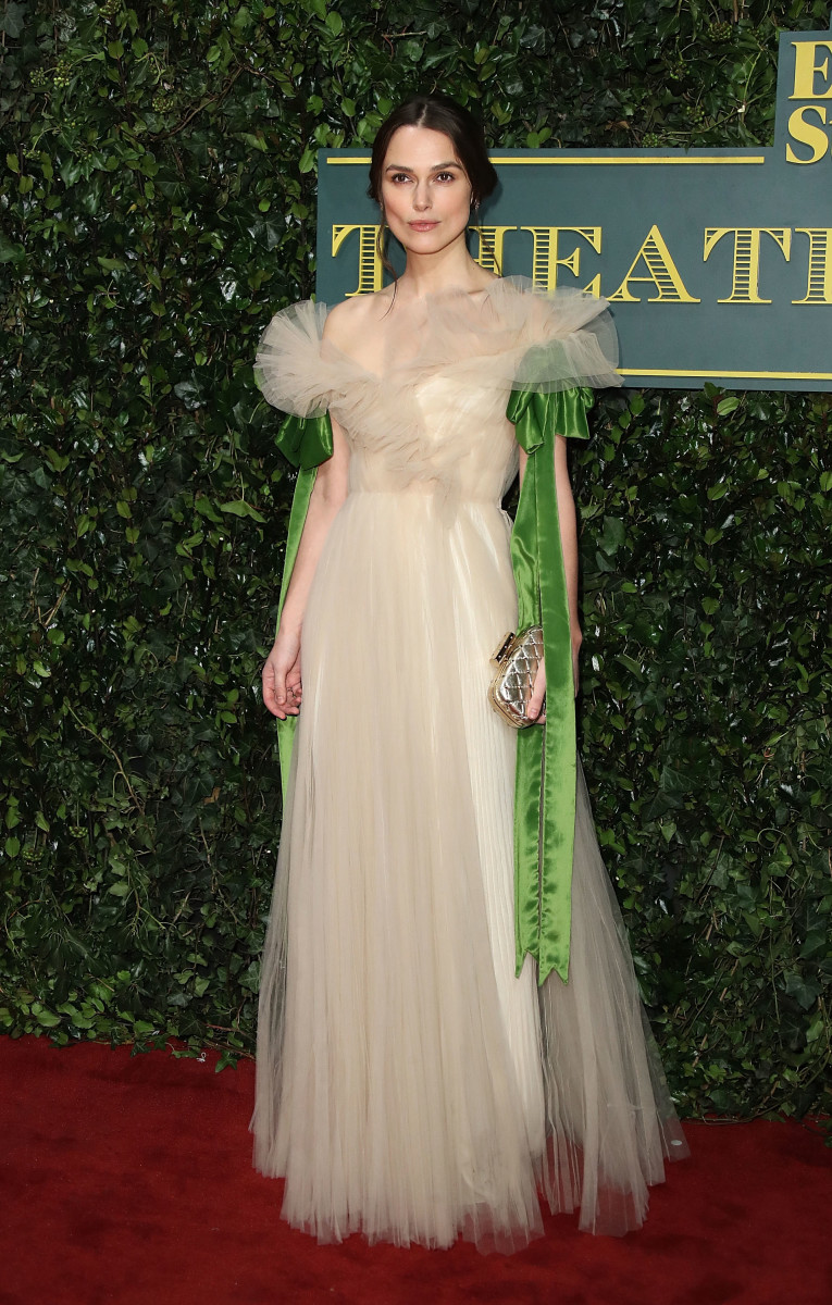 Keira Knightley Wore an Ethereal Valentino Dress To The Evening ...