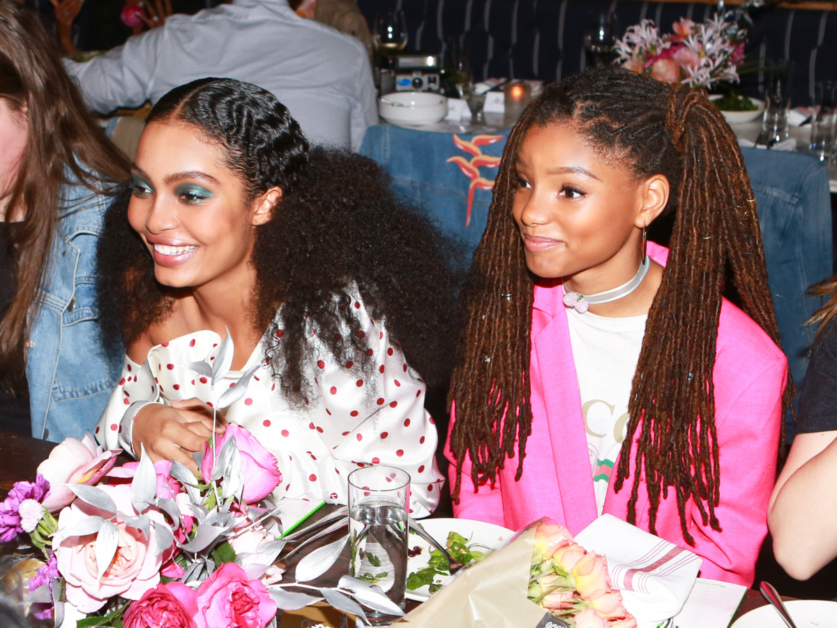 Yarah Shahidi and Halle. Photo: BFA