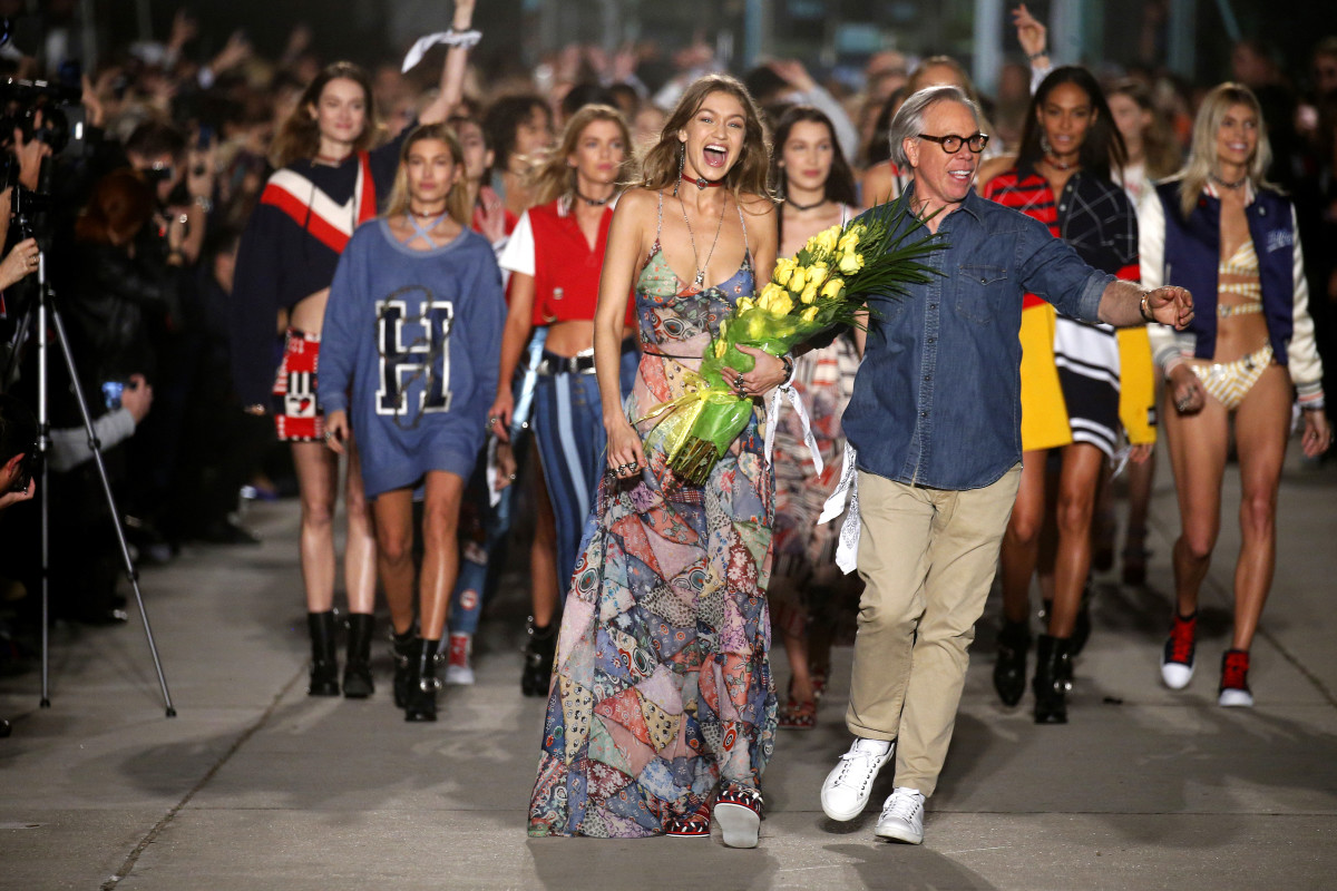 Tommy hilfiger is taking his 39 see now buy now 39 show to for Milano fashion school