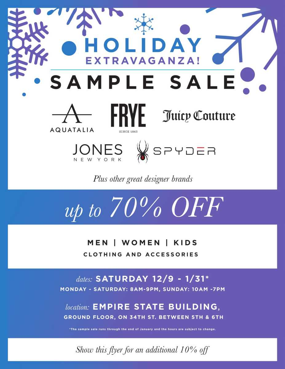 HOLIDAY SAMPLE SALE[1][2]-1