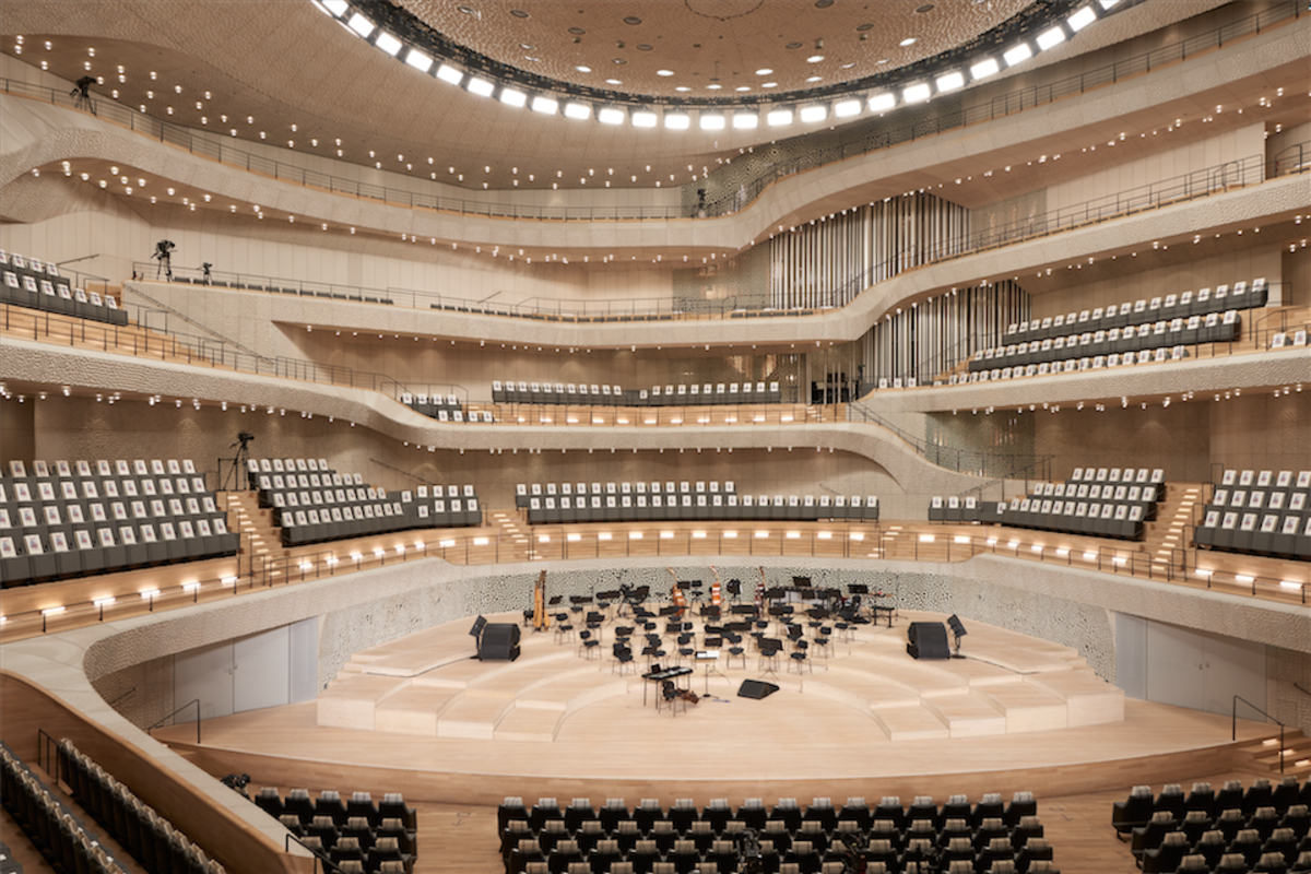 Inside Hamburg's Elbphilharmonie. Photo: Courtesy of Chanel