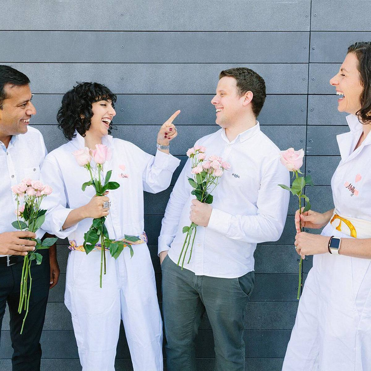 The Love Beauty and Planet team. Photo: @lovebeautyandplanet/Instagram